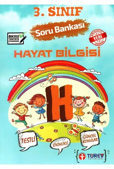 Türev Yayınları 3. Sınıf Hayat Bilgisi Soru Bankası