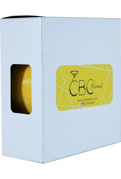 CBC Filament Premium Pla Filament 1.75mm - 1kg - 340M Sarı