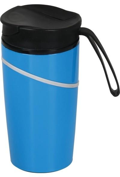 Denge Promosyon Devrilmez Termos 350 ml Mavi