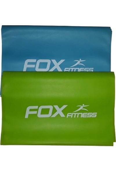 Fox Fitness Pilates / Yoga Direnç Lastiği Seti