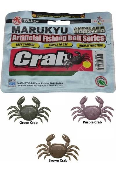 Marukyu Crab Large Kokulu Silikon Yengeç