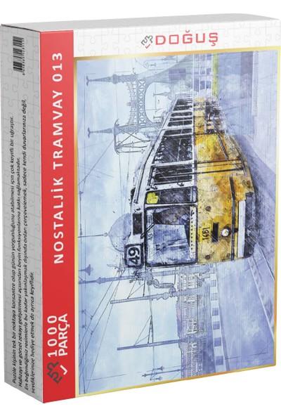Doğuş 013 Nostaljik Tramvay 1000 Parça Puzzle