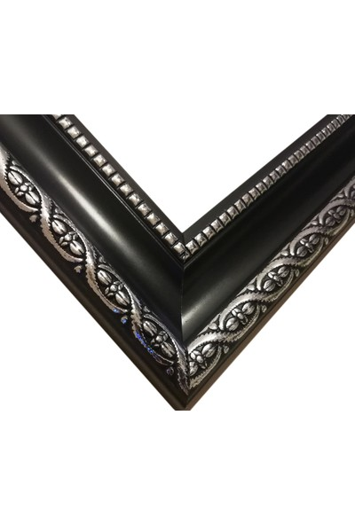 Deritel 1000 Parça Puzzle Çerçevesi Siyah 48 x 68 45 mm