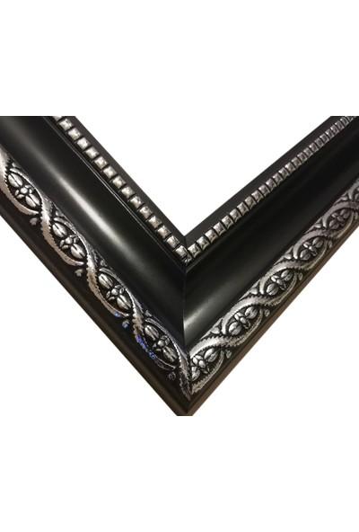 Deritel 1500 Parça Puzzle Çerçevesi Siyah 85 x 60 45 mm