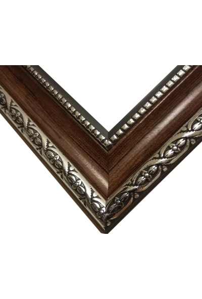 Deritel 1000 Parça Puzzle Çerçevesi Ceviz 48 x 68 45 mm