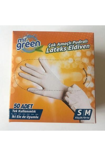 Mr. Green Eldiven S/m Beyaz 50'li