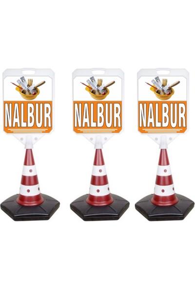 MFK Nalbur Temalı Reklam ve Uyarı Dubası 3'lü