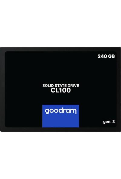 Goodram 240GB SSD 500 - 599 MB/s Sata 3 SSD (SSDPR-CL100-240-G3)