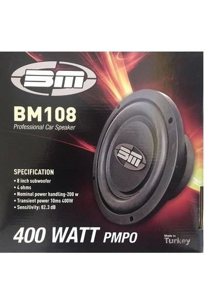 Bm Audio Bm 108 - 20 cm 400W Professional Subwoofer
