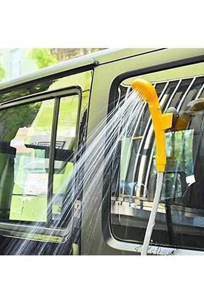 Taled 12 V Taşınabilir Seyahat Kamp Araç Oto Duş Seti