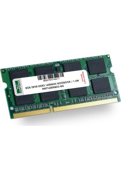 Ramtech 8 gb Ddr3 1600Mhz Notebook Ram 1.5w