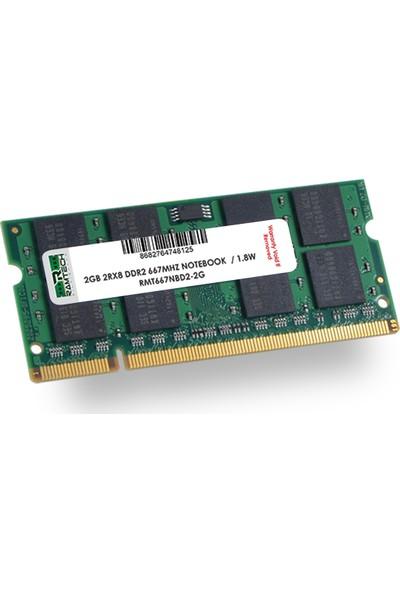Ramtech 2 gb Ddr2 667Mhz Notebook Ram 1.8w