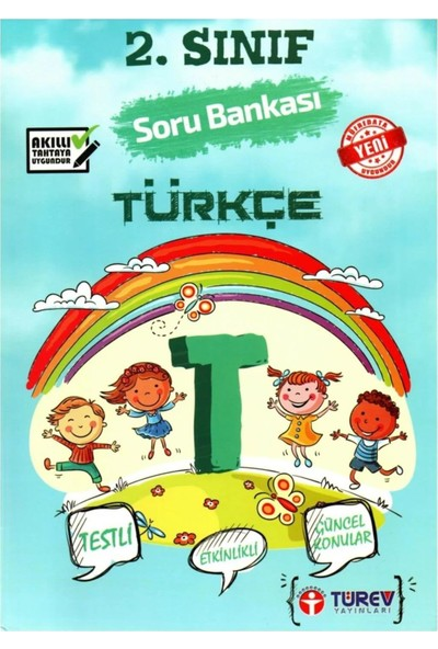 Türev Yayınları 2. Sınıf Türkçe Soru Bankası