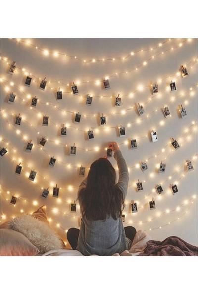 Enlodi Peri LED 3 Metre Pilli LED Işık