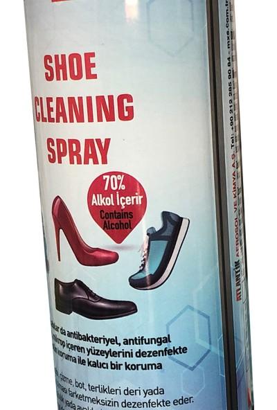 Helper Antibakteriyel Alkol Bazlı Ayakkabı Terlik Bot Temizleme Spreyi 300 ml