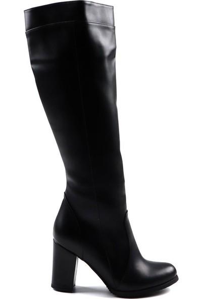 Anka Siyah Günlük Kadın Çizme