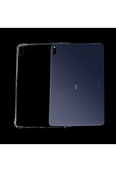 Fujimax Huawei T3 10 Antişok Özellikli Şeffaf Tablet Kılıf Şeffaf