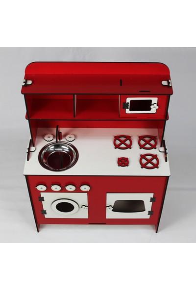 Hayal Oyuncak Ahşap Oyun Mutfağı 75 cm