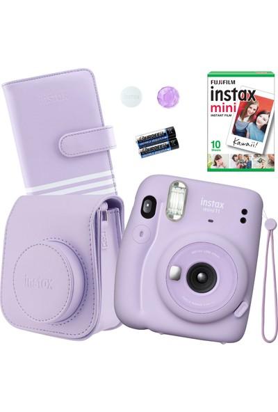 Fujifilm Instax Mini 11 Lila Fotoğraf Makinesi Seti 2
