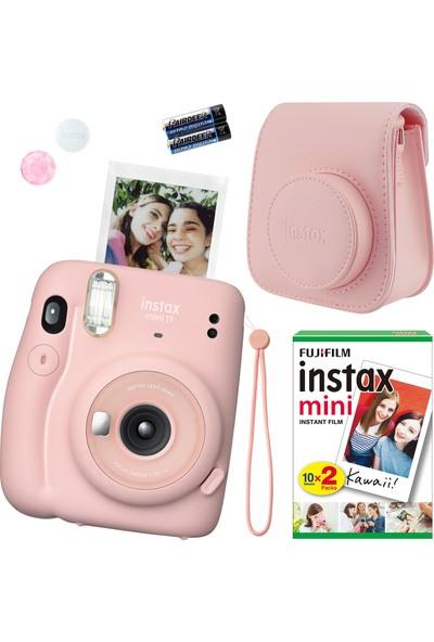 Fujifilm Instax Mini 11 Pembe Fotoğraf Makinesi Seti 4