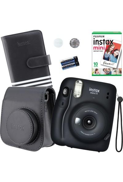 Fujifilm Instax Mini 11 Siyah Fotoğraf Makinesi Seti 2