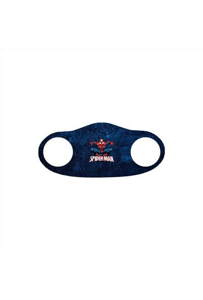 Alışveriş Burada Spiderman Baskılı - Çocuklar Için Yıkanabilir Koruyucu Nano Maske 5'li Paket