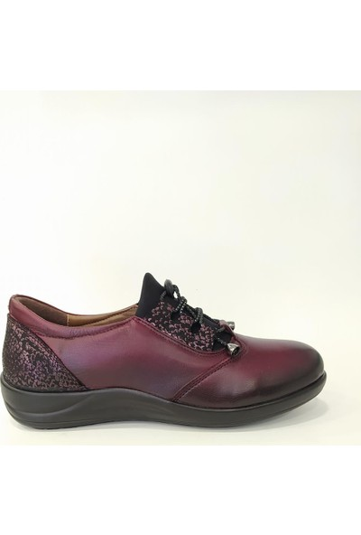 Forex 1030Z Kadın Deri Spor Ayakkabı