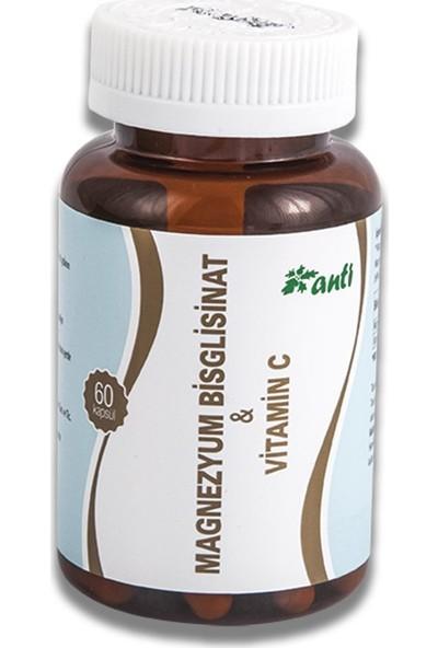 Anti Magnezyum Bisglisinat Vitamin C