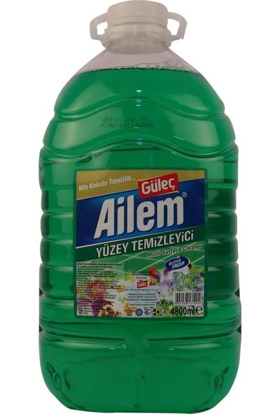 Güleç Ailem Yüzey Temizleyici Yeşil 4800 ml