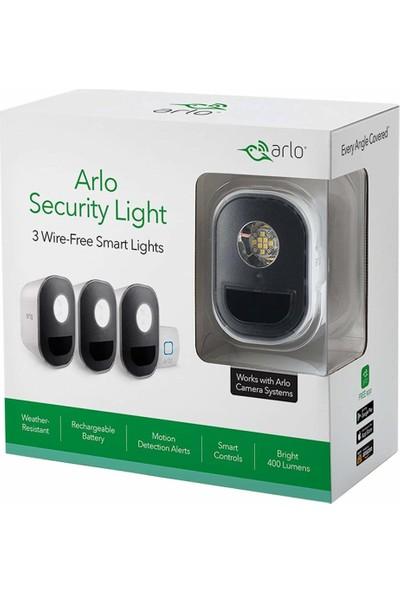 Arlo Işıklar - Akıllı Ev Güvenlik Işığı 3 Işık Kiti (ALS1103)