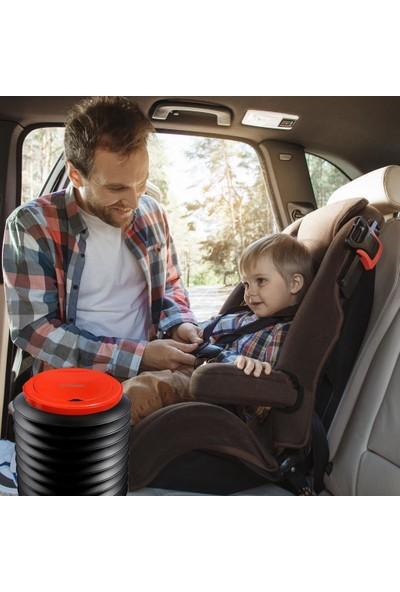 CG Mobile Linksmart LSM08 Araç Içi Plastik Katlanabilir Çöp Kutusu