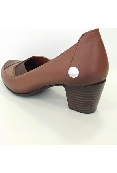 Mammamia D20YA-3180Y Günlük Kadın Deri Topuklu Ayakkabı