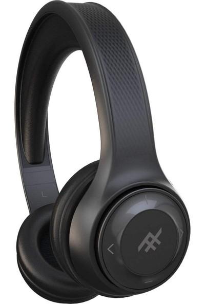 iFrogz Aurora Mikrofonlu Kulak Üstü Kablosuz Bluetooth + Kablolu Kulaklık - Siyah