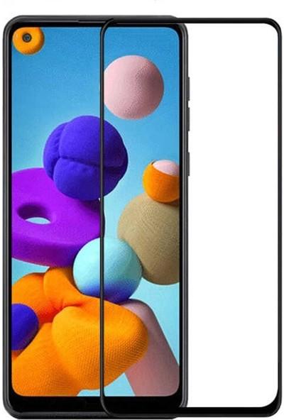 Gpack Samsung Galaxy A21s Full Kapatan Tam Koruma Siyah