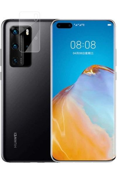Gpack Huawei P40 Pro Kamera Lens Koruyucu Nano Koruyucu Şeffaf