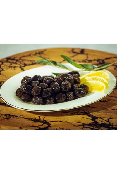Esin Zeytin Ege'nin İncisi Esin Kahvaltılık Gemlik Yağlı Sele Siyah Zeytin Lüks Boy 1 kg