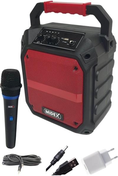 Midex MXR-150 Taşınabilir Şarjlı Ses Sistemi Hoparlör 120W