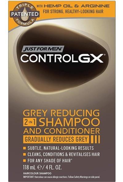 Just For Men Controlgx Gri Saçları Koyulaştıran 2in1 Şampuan 118ML
