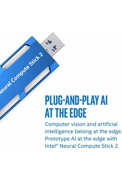 Intel Neural Computer Stick 2 Yapay Zeka Arayüzü (Yurt Dışından)