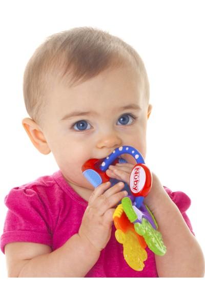 Nuby Anahtar Şeklinde Soğuk Diş Kaşıyıcı