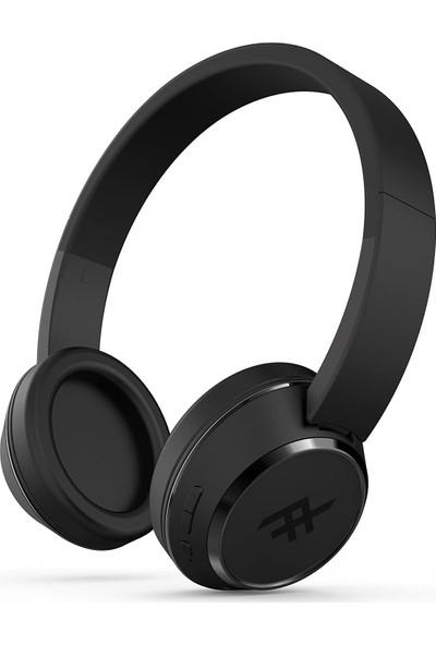 iFrogz Coda Mikrofonlu Kulaküstü Kablosuz Bluetooth Kulaklık - Siyah
