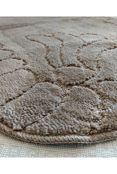Evden Avm Kaymaz Taban Banyo Halısı Kahverengi 75 x 120 cm
