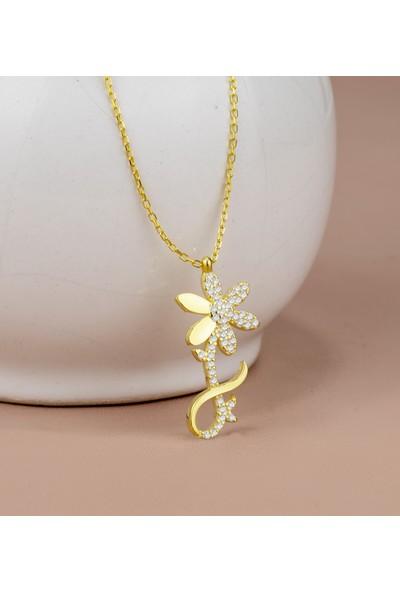 Else Silver Sonsuz Aşkın Çiçeği Gümüş Kolye