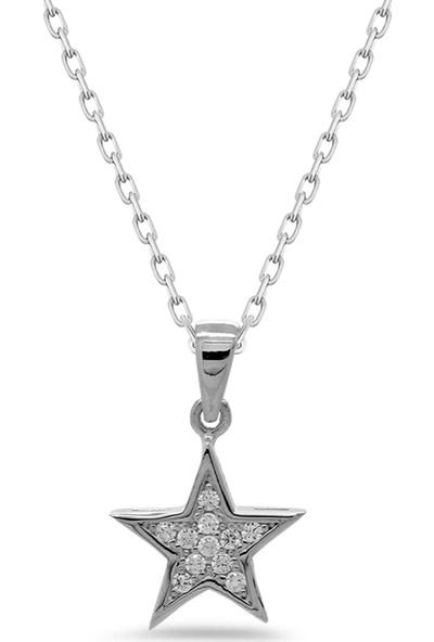 Else Silver Gümüş Tiny Yıldız Kolye
