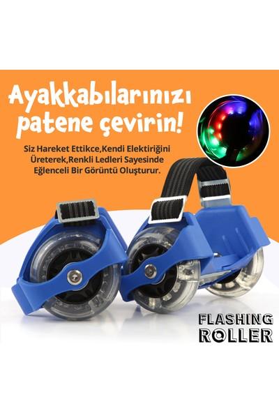Flashing Roller Ayarlanabilir Işıklı Topuk Pateni