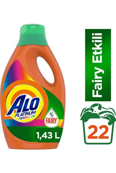 Alo Platinum Fairy Etkili 22 Yıkama Renkli Sıvı Çamaşır Deterjanı