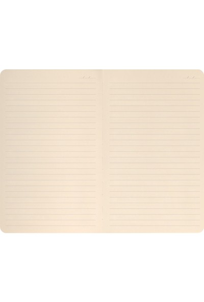 Matt Notebook Sert Kapak Lastikli Defter Çizgili 13 x 21 cm
