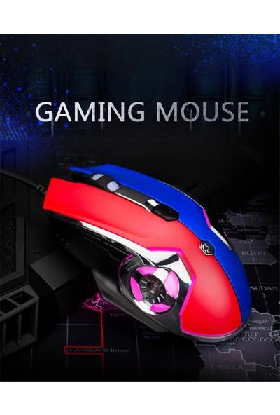 Ajazz AJ120 USB Kablolu Gaming Mouse 6 Tuşlu (Yurt Dışından)