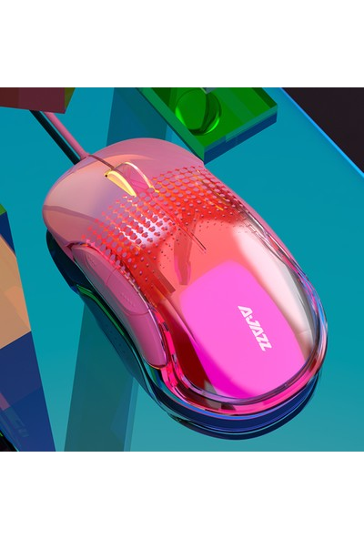 Ajazz AJ358 Kablolu Gaming Mouse Ergonomik 10000 DPI (Yurt Dışından)