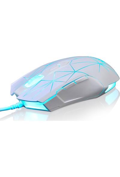 Ajazz AJ52 7 RGB Arkadan Aydınlatmalı Modlar Kablolu Mouse (Yurt Dışından)
